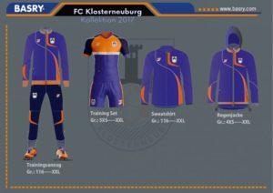 FCC Klosterneuburg Trainingsbekleidung