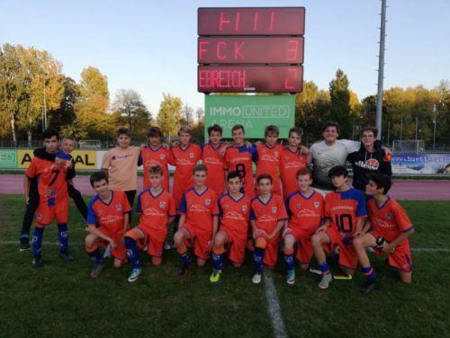 FC Klosterneuburg U15 vs Ebreichsdorf