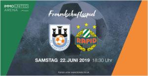 FC Klosterneuburg vs SK Rapid Wien